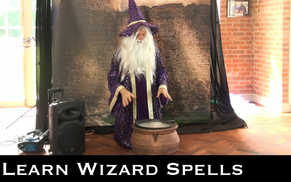 wizard themed children's party