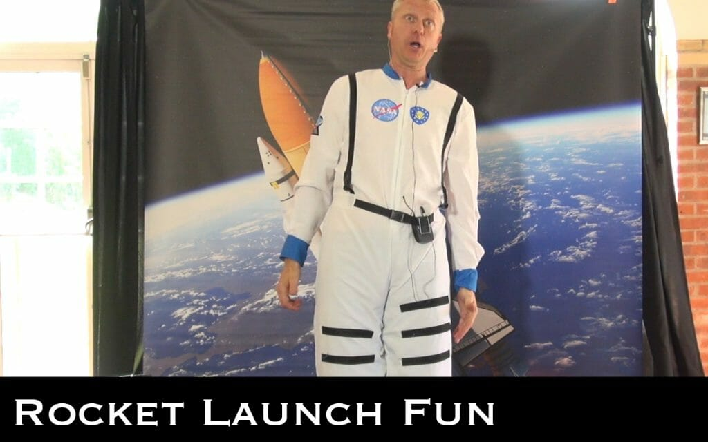 space themed children's party