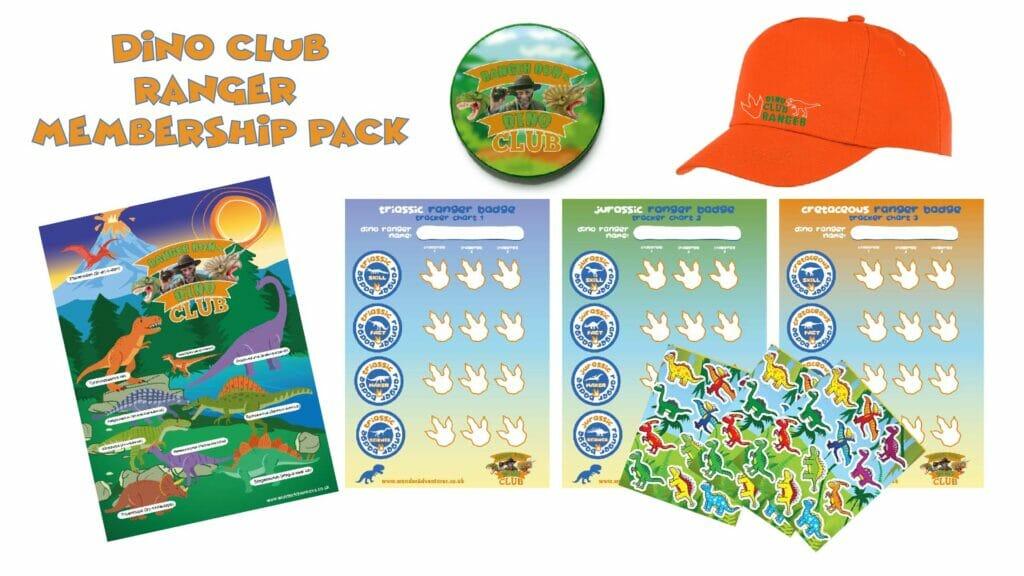dinosaur club member pack